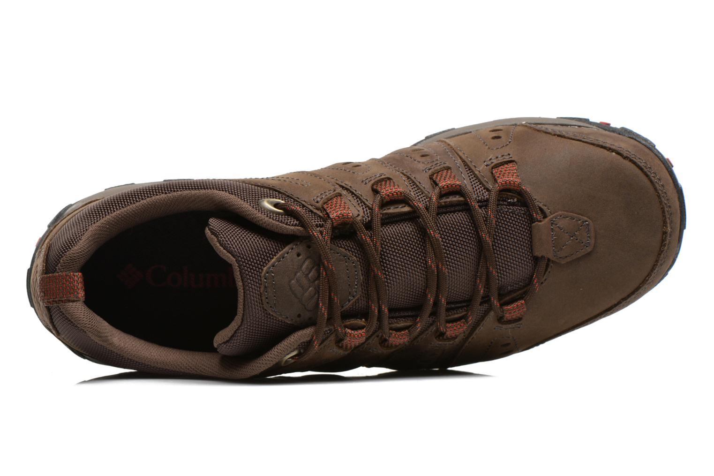 Scarpe sportive Columbia Woodburn Plus II Marrone immagine sinistra