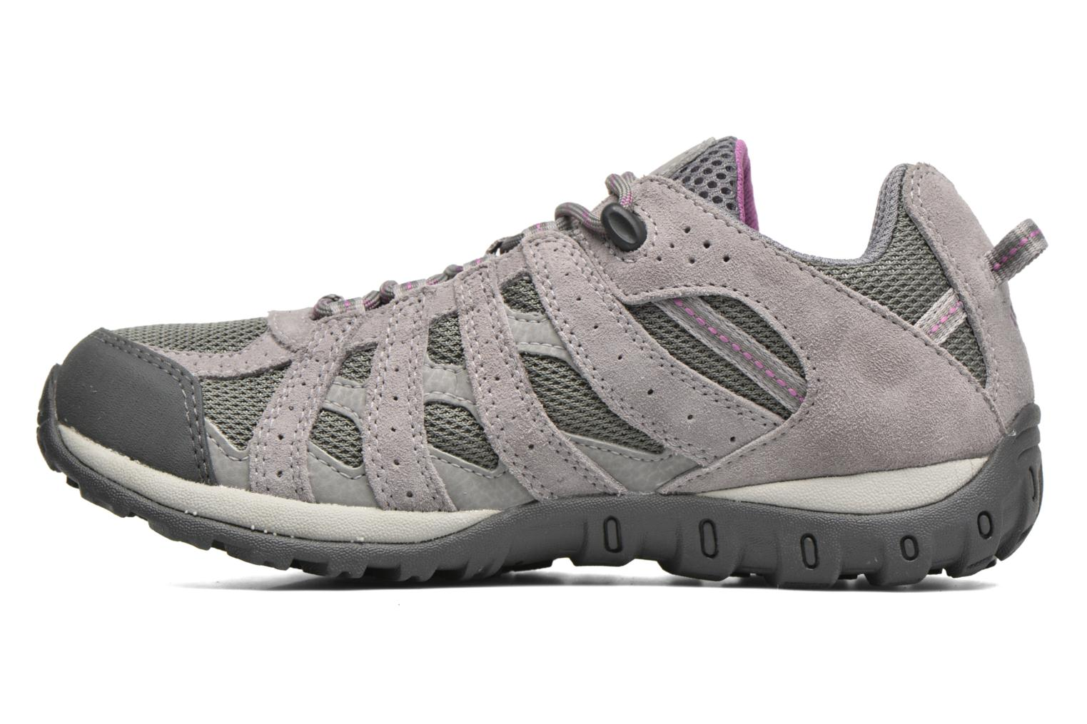 Chaussures de sport Columbia Redmond Waterproof Gris vue face