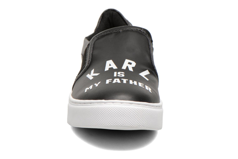 Baskets Eleven paris Lorde Noir vue portées chaussures