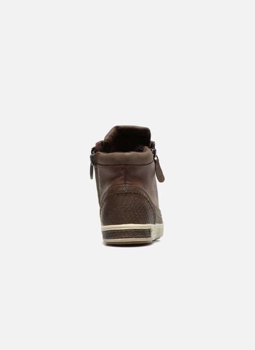 Trainers I Love Shoes Susket Brown view from the right