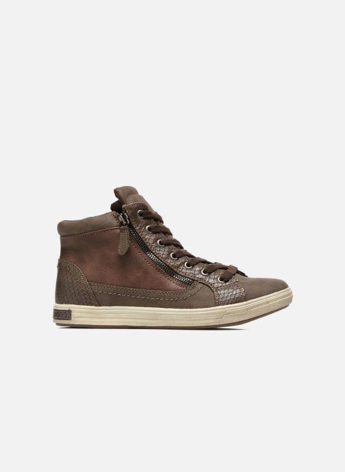 Sneaker I Love Shoes Susket braun ansicht von hinten