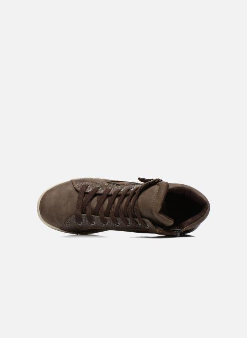 Sneaker I Love Shoes Susket braun ansicht von links