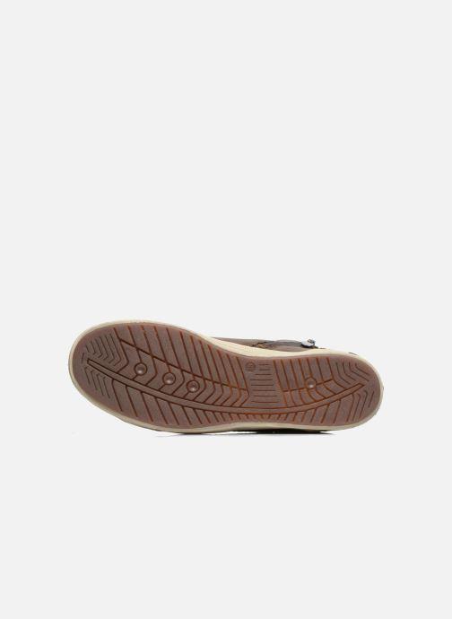 Baskets I Love Shoes Susket Marron vue haut