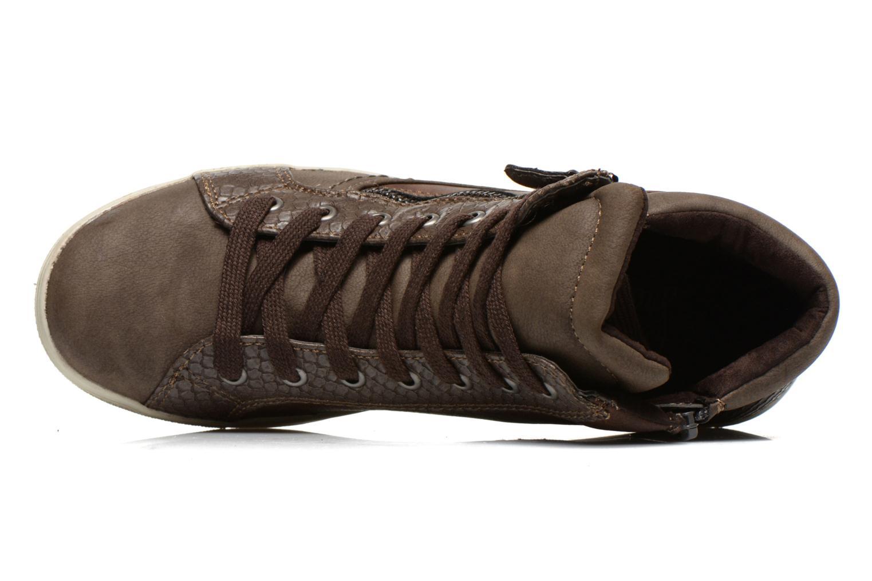 Baskets I Love Shoes Susket Marron vue gauche