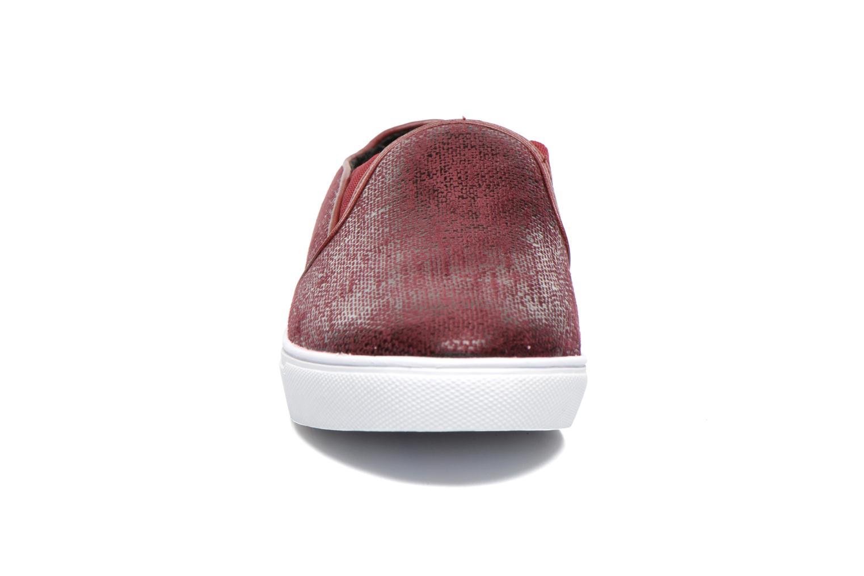 Baskets Le temps des cerises Ava Bordeaux vue portées chaussures