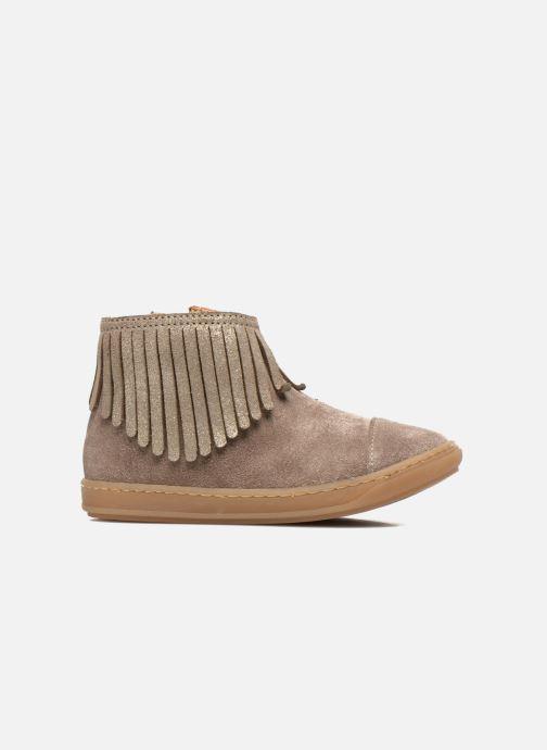 Boots en enkellaarsjes Shoo Pom Bouba Fringe Beige achterkant