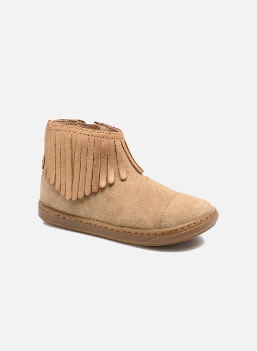 Stiefeletten & Boots Shoo Pom Bouba Fringe braun detaillierte ansicht/modell