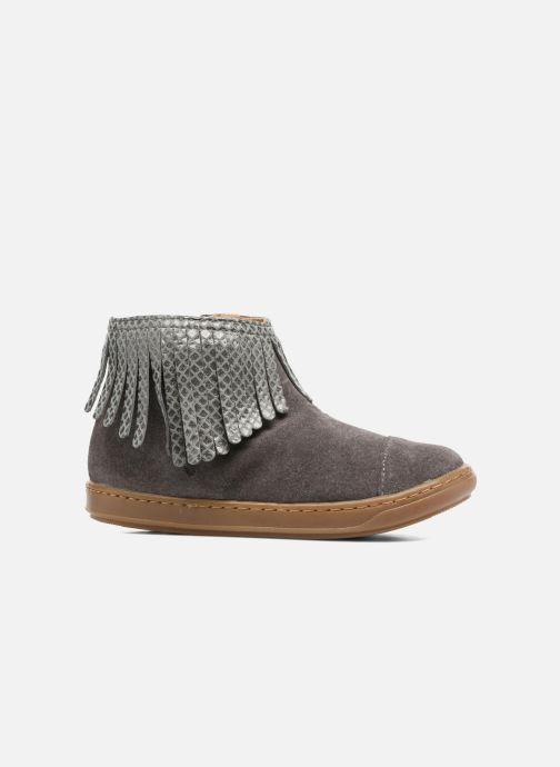 Bottines et boots Shoo Pom Bouba Fringe Gris vue derrière
