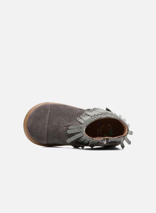 Bottines et boots Shoo Pom Bouba Fringe Gris vue gauche