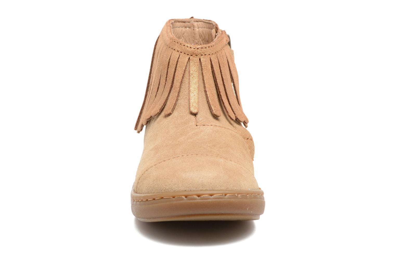 Bottines et boots Shoo Pom Bouba Fringe Marron vue portées chaussures