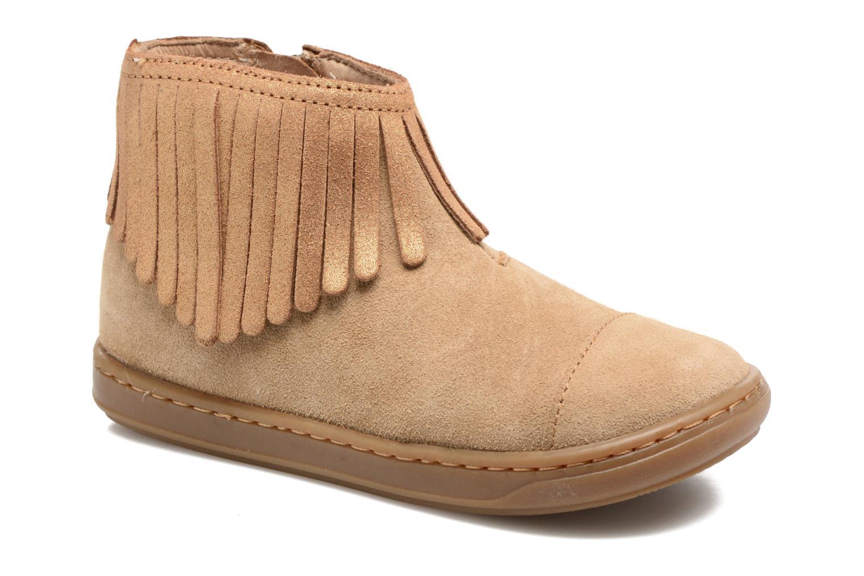 Bottines et boots Shoo Pom Bouba Fringe Marron vue détail/paire