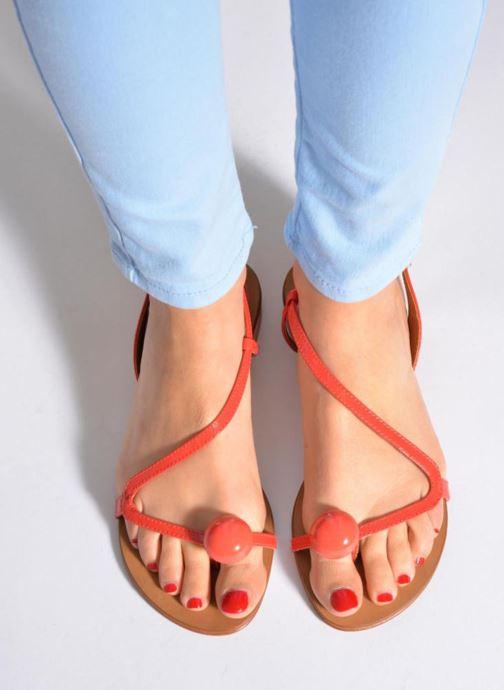Sandals Georgia Rose Calindda Black view from underneath / model view
