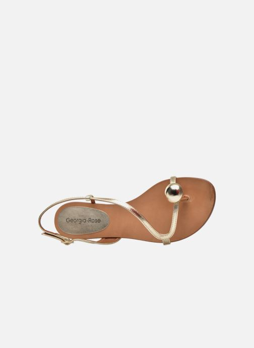 Sandalen Georgia Rose Calindda gold/bronze ansicht von links