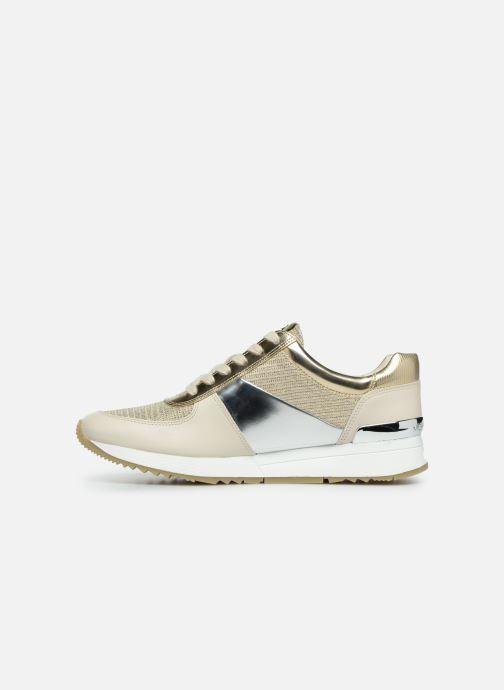 Sneakers Michael Michael Kors Allie Trainer Goud en brons voorkant
