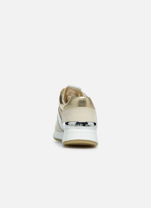 Sneaker Michael Michael Kors Allie Trainer gold/bronze ansicht von rechts