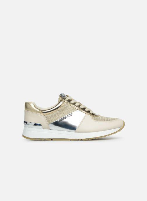Sneaker Michael Michael Kors Allie Trainer gold/bronze ansicht von hinten