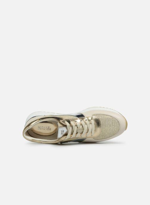 Sneakers Michael Michael Kors Allie Trainer Goud en brons links
