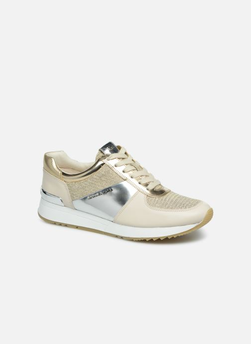 9ac82237862c Trainers Michael Michael Kors Allie Trainer Bronze and Gold detailed view   Pair view
