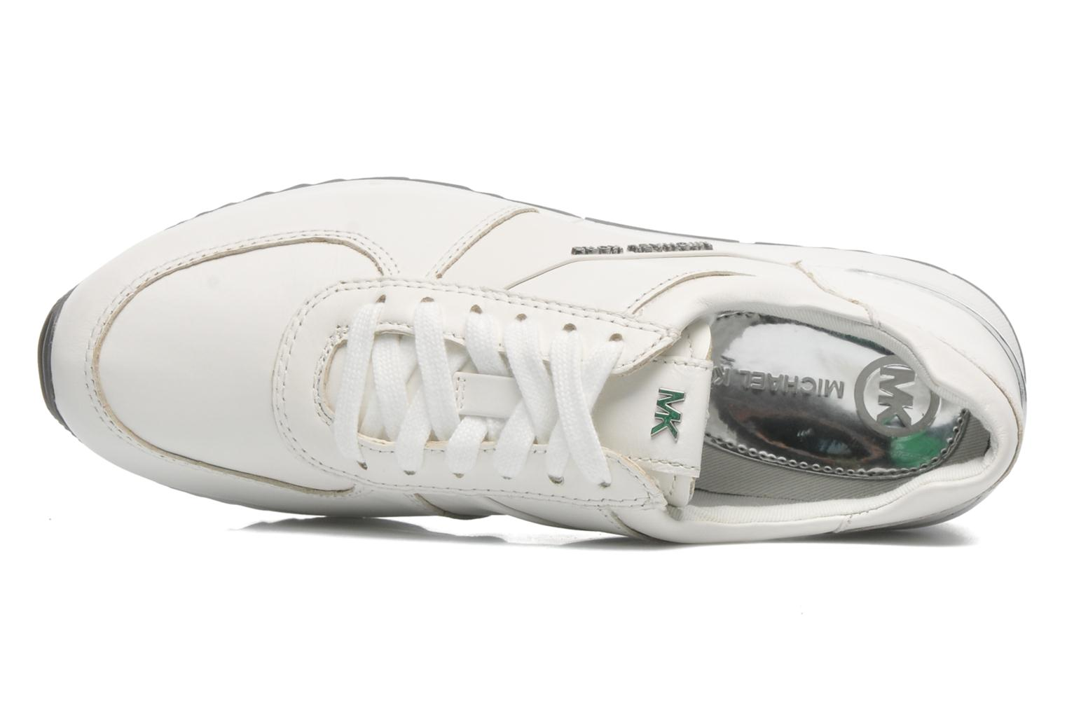 Sneakers Michael Michael Kors Allie Trainer Bianco immagine sinistra