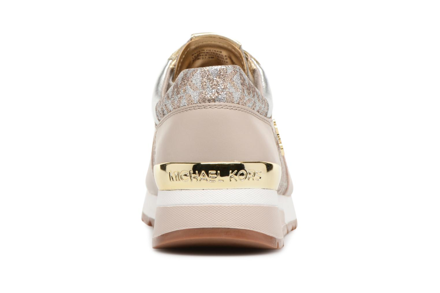 Trainers Michael Michael Kors Allie Trainer Beige view from the right