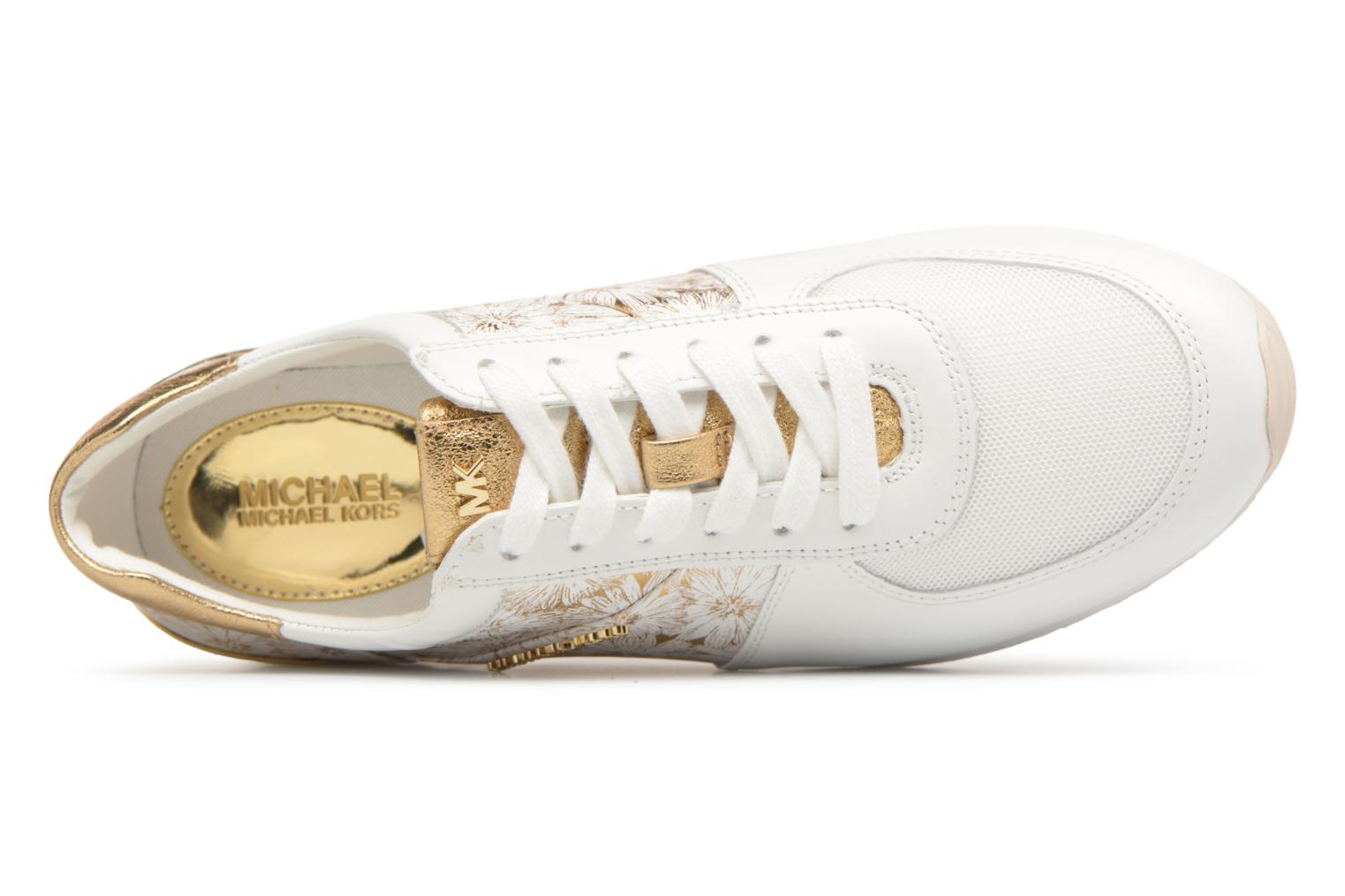 Trainers Michael Michael Kors Allie Trainer White view from the left