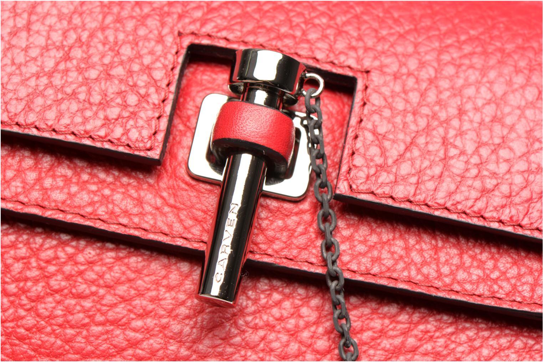 Håndtasker Carven MALHER Mini Sac Rød se fra venstre