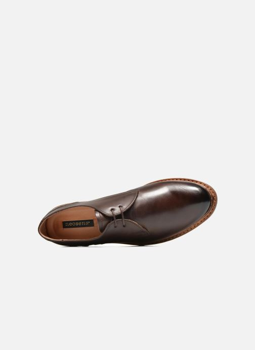 Lace-up shoes Neosens Hondarribi S898 Brown view from the left