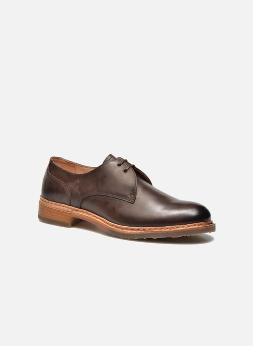 Lace-up shoes Neosens Hondarribi S898 Brown detailed view/ Pair view