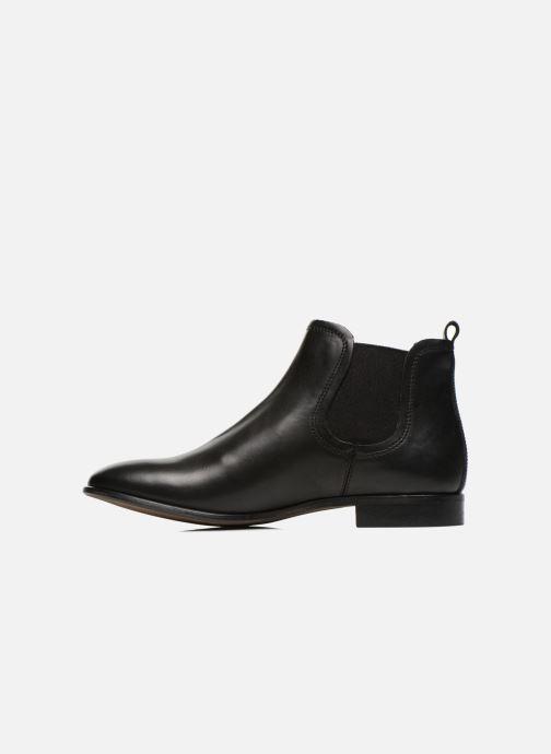 Bottines et boots Georgia Rose Anillou Noir vue face