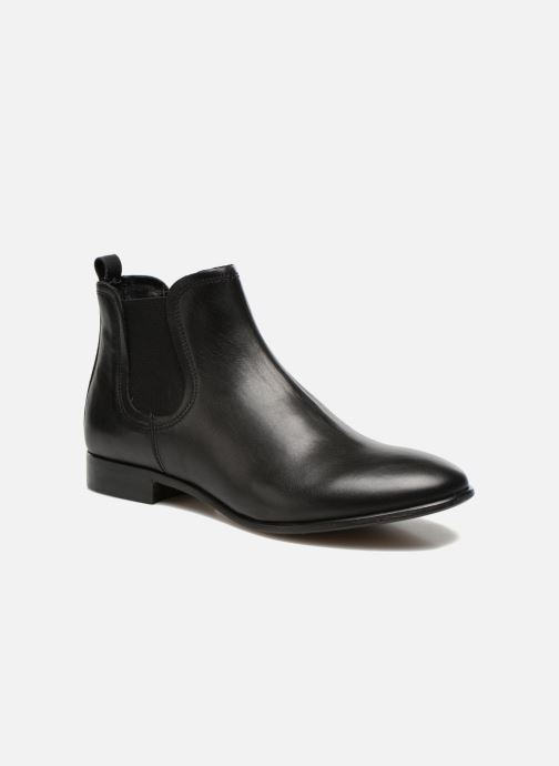 Ankle boots Georgia Rose Anillou Black detailed view/ Pair view