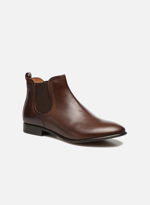 Boots en enkellaarsjes Georgia Rose Anillou Bruin detail