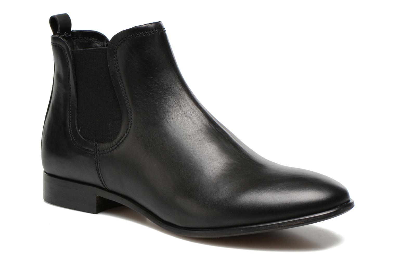 Bottines et boots Georgia Rose Anillou Noir vue détail/paire