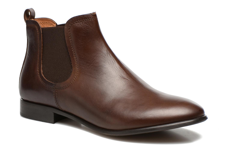 Bottines et boots Georgia Rose Anillou Marron vue détail/paire
