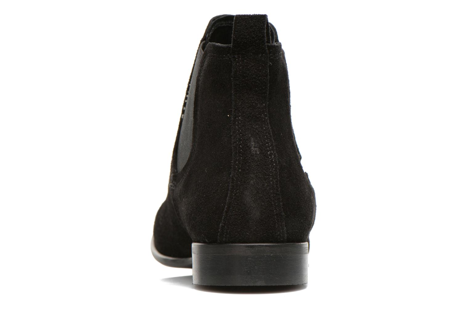 Ankle boots Georgia Rose Anilla Black view from the right
