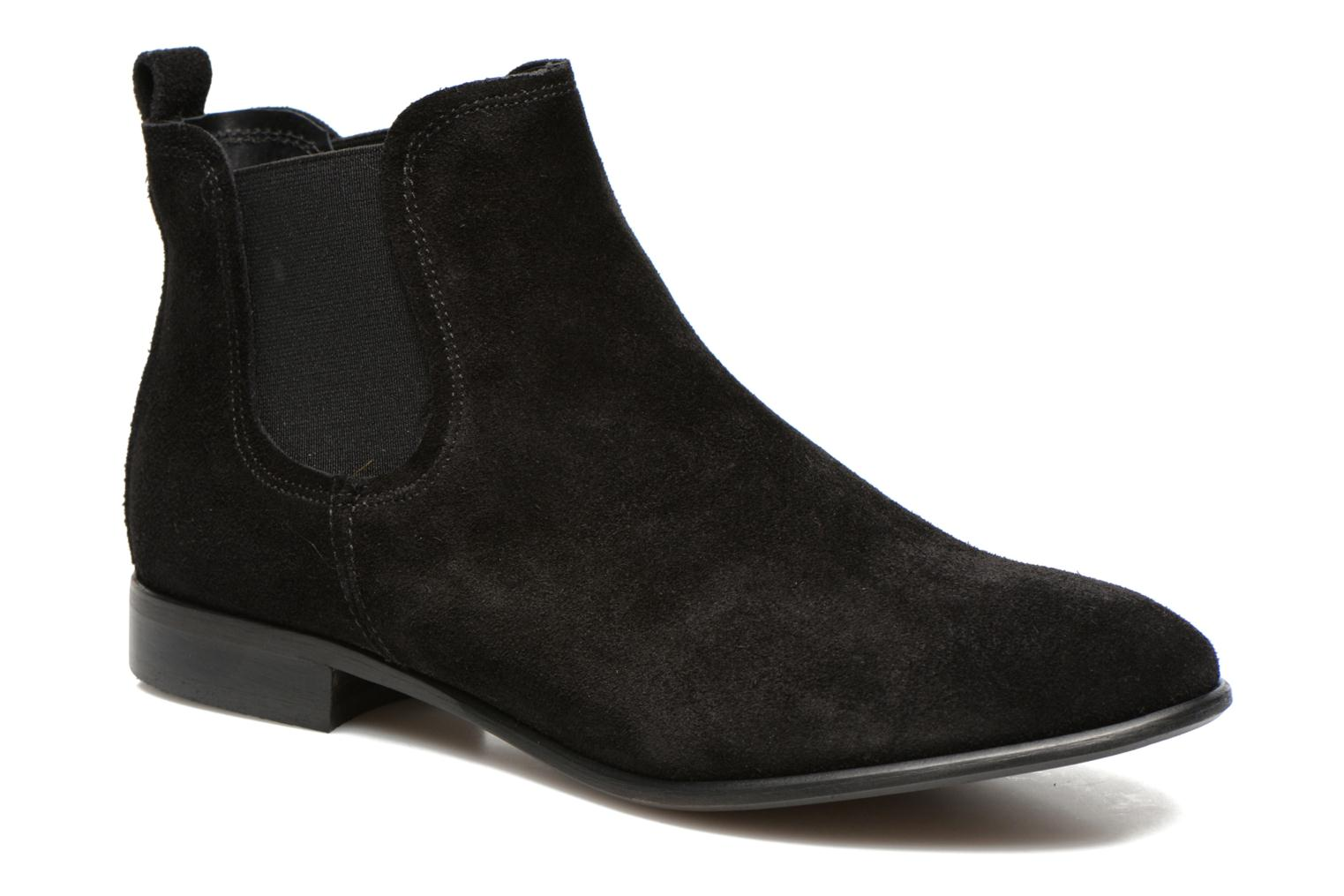 Ankle boots Georgia Rose Anilla Black detailed view/ Pair view