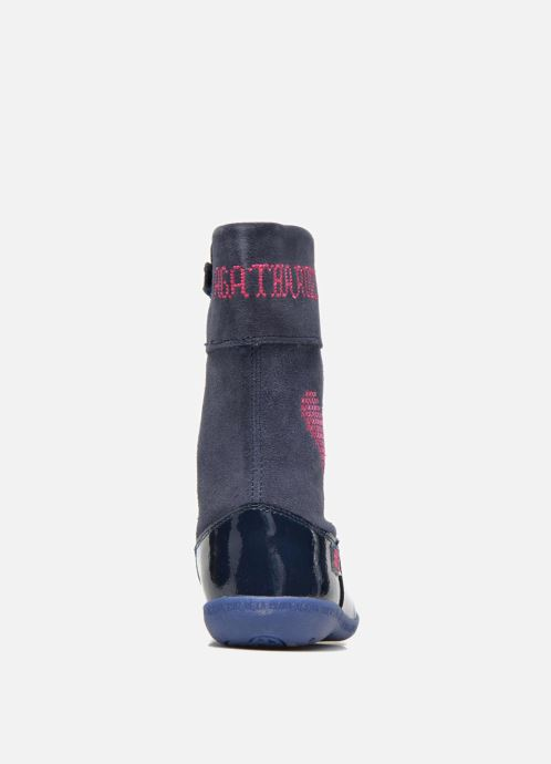 Boots & wellies Agatha Ruiz de la Prada Cazoleta Infantil 2 Blue view from the right