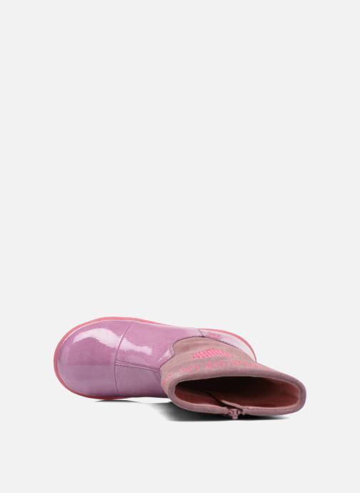 Bottes Agatha Ruiz de la Prada Cazoleta Infantil 2 Rose vue gauche