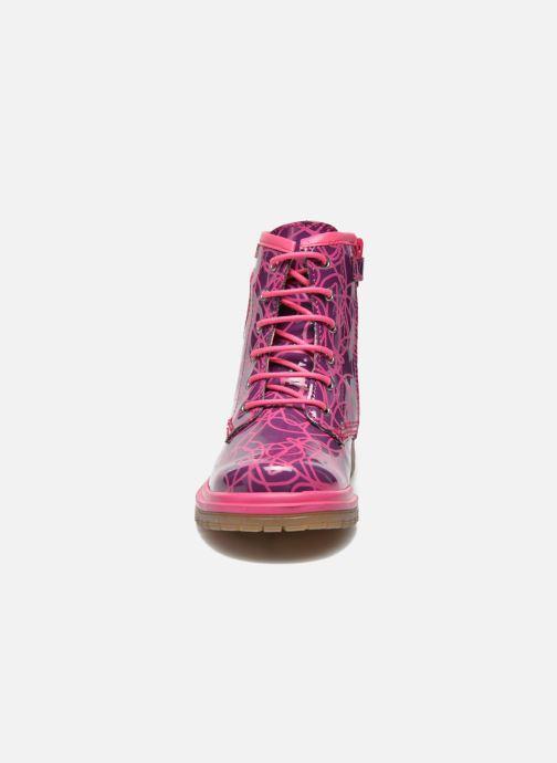 Stiefeletten & Boots Agatha Ruiz de la Prada Miss Agatha lila schuhe getragen