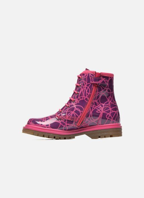 Ankle boots Agatha Ruiz de la Prada Miss Agatha Purple front view