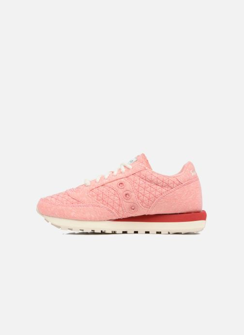 Baskets Saucony Jazz Original Rose vue face