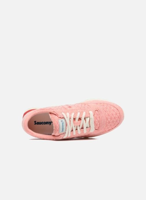 Baskets Saucony Jazz Original Rose vue gauche