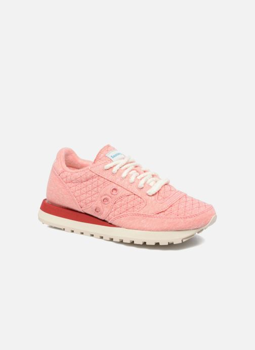Baskets Saucony Jazz Original Rose vue détail/paire