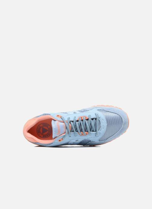 Baskets Saucony Shadow 5000 W Bleu vue gauche