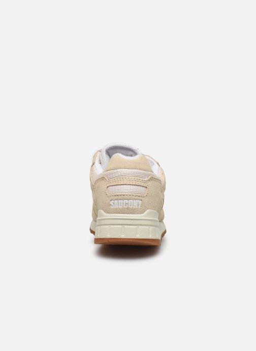 Sneaker Saucony Shadow 5000 W beige ansicht von rechts