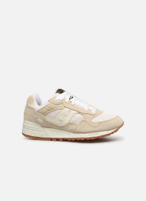 Sneaker Saucony Shadow 5000 W beige ansicht von hinten