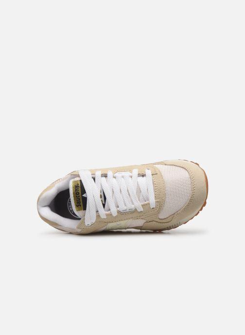 Sneaker Saucony Shadow 5000 W beige ansicht von links