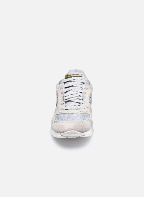 Baskets Saucony Shadow 5000 W Gris vue portées chaussures