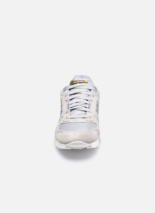 Sneaker Saucony Shadow 5000 W grau schuhe getragen