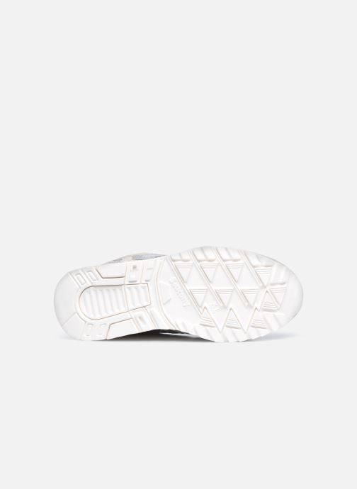 Sneaker Saucony Shadow 5000 W grau ansicht von oben