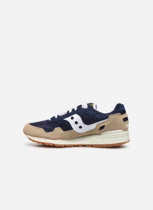 Baskets Saucony Shadow 5000 Beige vue face